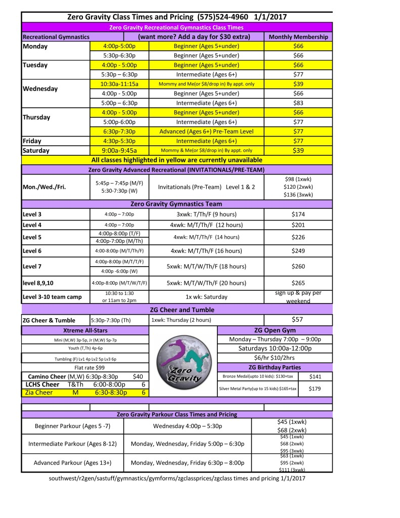 ZG Class times and Pricing New Wages 01-01-17_BH-page-001