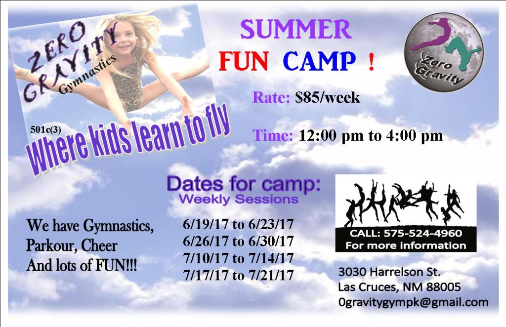 Summer fun camp 2017 for facebook & website